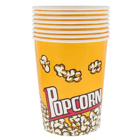64oz and 130oz popcorn buckets