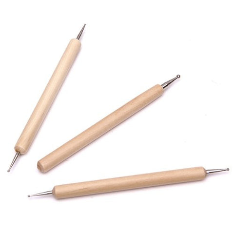 Sculpting Tools - Ball Tipped Stylus Double Ended (3 Piece), Tools, Titanic Creative Management, Titanic FX Store, Titanic FX Store, Titanic Creative, Prosthetic, Makeup, MUA, SFX, FX Makeup, Belfast, UK, Europe, Northern Ireland, NI