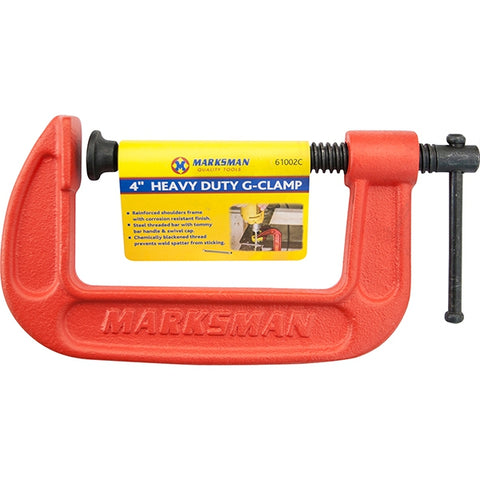 Marksman Tools | Heavy Duty G-Clamp 4""