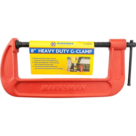 Marksman Tools | Heavy Duty G-Clamp 8""