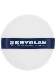 Kryolan Powder Puff - White - 9cm