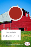 Dixie Belle Paint | Barn Red| Warm Deep Red Chalk Mineral Paint | 8oz, 16oz, 32oz