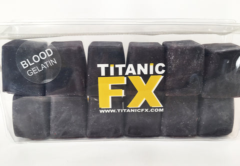 Titanic FX Prosthetic Gelatin - Blood Colour (1KG), SFX Materials, Titanic FX, Titanic FX Store, Titanic FX Store, Titanic Creative, Prosthetic, Makeup, MUA, SFX, FX Makeup, Belfast, UK, Europe, Northern Ireland, NI