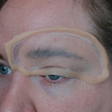 Jess FX - Eyebrow Blocker Prosthetics - Small (Encapsulated Silicone)