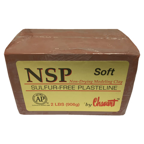 Chavant Clay - NSP Soft (Brown / Terracotta)