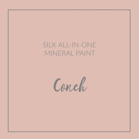 Dixie Belle Paint | Conch | Light Pink | Silk All-in-one Mineral Paint | 16oz/473ml