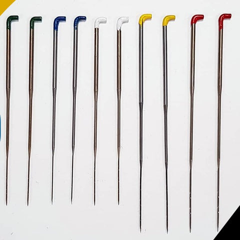 Titanic FX Crown Punching Needles - Individual Sizes (Bulk Quantities), Wig Making, Titanic FX, Titanic FX, Titanic FX Store, Prosthetic, Makeup, MUA, SFX, FX Makeup, Belfast, UK, Europe, Northern Ireland, NI