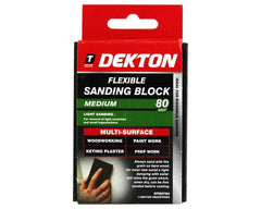 Dekton | Flexible Sanding Block (80 Grit)