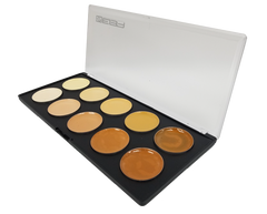 NEW: Evo Cream Palette - Skin (Light to Dark) - Water & Transfer Resistant! - European Body Art