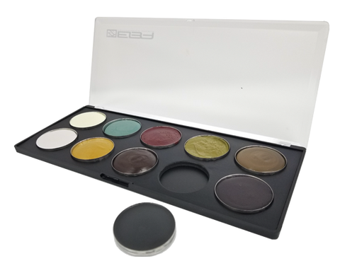 NEW: Evo Cream Palette - Undead - Water & Transfer Resistant! - European Body Art, Paints, European Body Art, Titanic FX Store, Titanic FX Store, Prosthetic, Makeup, MUA, SFX, FX Makeup, Belfast, UK, Europe, Northern Ireland, NI