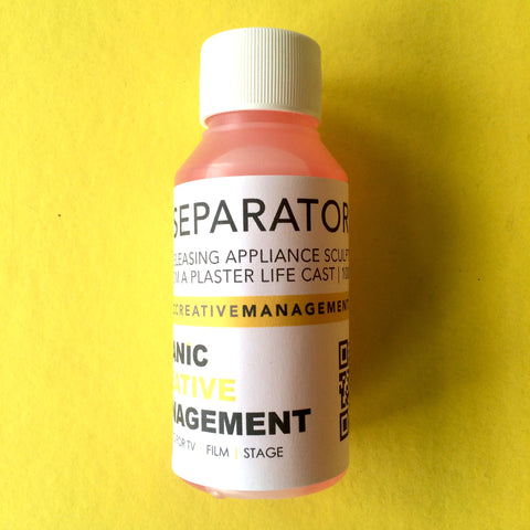 Separator - 100ml, Materials, Neills Materials, Titanic FX, Titanic FX Store, Prosthetic, Makeup, MUA, SFX, FX Makeup, Belfast, UK, Europe, Northern Ireland, NI