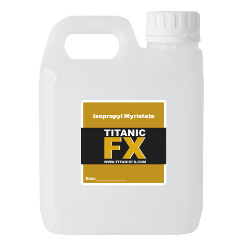 Isopropyl Myristate (IPM), Materials, Titanic FX, Titanic FX, Titanic FX Store, Prosthetic, Makeup, MUA, SFX, FX Makeup, Belfast, UK, Europe, Northern Ireland, NI