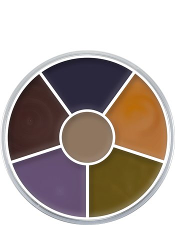 Kryolan Bruise Wheel (6 Colours)