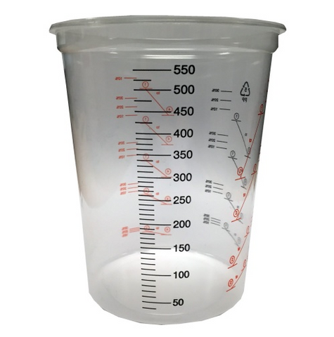 600ml Plastic Mixing Cups, , Titanic FX, Titanic FX, Titanic FX Store, Prosthetic, Makeup, MUA, SFX, FX Makeup, Belfast, UK, Europe, Northern Ireland, NI