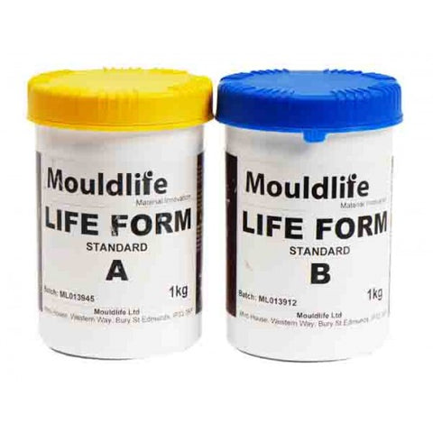 Mouldlife Life-Form Lifecasting Silicone 2KG Kit