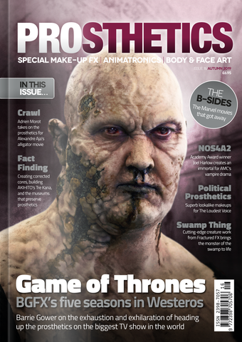 The Prosthetics Magazine (Issue 16 - Autumn 2019), Magazine, Prosthetics Magazine, Titanic FX, Titanic FX Store, Prosthetic, Makeup, MUA, SFX, FX Makeup, Belfast, UK, Europe, Northern Ireland, NI