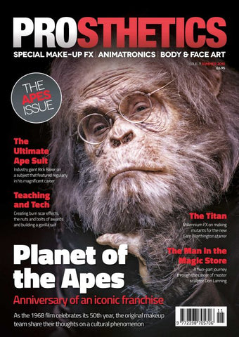 The Prosthetics Magazine (Issue 11 - Summer 2018), Magazine, Prosthetics Magazine, Titanic FX Store, Titanic FX Store, Prosthetic, Makeup, MUA, SFX, FX Makeup, Belfast, UK, Europe, Northern Ireland, NI