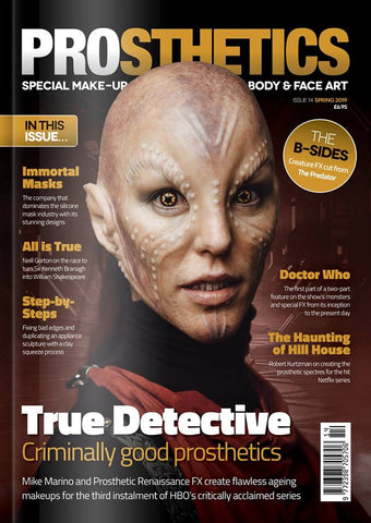 The Prosthetics Magazine (Issue 14 - Spring 2019), Magazine, Prosthetics Magazine, Titanic FX, Titanic FX Store, Prosthetic, Makeup, MUA, SFX, FX Makeup, Belfast, UK, Europe, Northern Ireland, NI
