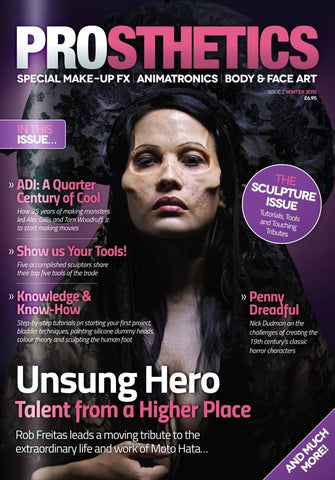 Prosthetics Magazine (Issue 2 Winter 2015), Magazine, Prosthetics Magazine, Titanic FX Store, Titanic FX Store, Prosthetic, Makeup, MUA, SFX, FX Makeup, Belfast, UK, Europe, Northern Ireland, NI