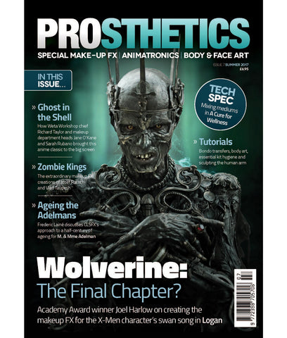 Prosthetics Magazine (Issue 7 Summer 2017), Magazine, Prosthetics Magazine, Titanic FX Store, Titanic FX Store, Prosthetic, Makeup, MUA, SFX, FX Makeup, Belfast, UK, Europe, Northern Ireland, NI