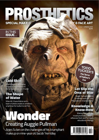 The Prosthetics Magazine (Issue 10 - Spring 2018), Magazine, Prosthetics Magazine, Titanic FX Store, Titanic FX Store, Prosthetic, Makeup, MUA, SFX, FX Makeup, Belfast, UK, Europe, Northern Ireland, NI
