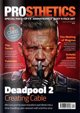 The Prosthetics Magazine (Issue 12 - Autumn 2018), Magazine, Prosthetics Magazine, Titanic FX Store, Titanic FX Store, Prosthetic, Makeup, MUA, SFX, FX Makeup, Belfast, UK, Europe, Northern Ireland, NI
