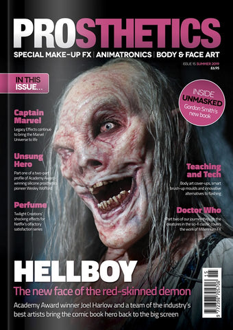 The Prosthetics Magazine (Issue 15 - Summer 2019), Magazine, Prosthetics Magazine, Titanic FX, Titanic FX Store, Prosthetic, Makeup, MUA, SFX, FX Makeup, Belfast, UK, Europe, Northern Ireland, NI