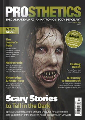 The Prosthetics Magazine (Issue 17 - Winter 2019), Magazine, Prosthetics Magazine, Titanic FX, Titanic FX Store, Prosthetic, Makeup, MUA, SFX, FX Makeup, Belfast, UK, Europe, Northern Ireland, NI