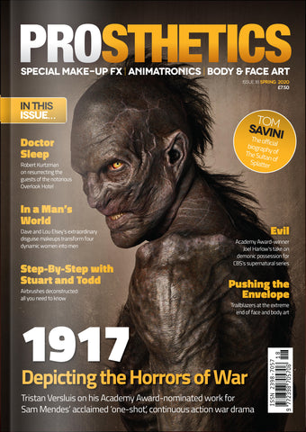 The Prosthetics Magazine (Issue 18 - Spring 2020), Magazine, Prosthetics Magazine, Titanic FX, Titanic FX Store, Prosthetic, Makeup, MUA, SFX, FX Makeup, Belfast, UK, Europe, Northern Ireland, NI