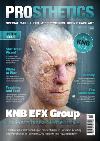 The Prosthetics Magazine (Issue 19 - Summer 2020), Magazine, Prosthetics Magazine, Titanic FX, Titanic FX Store, Prosthetic, Makeup, MUA, SFX, FX Makeup, Belfast, UK, Europe, Northern Ireland, NI
