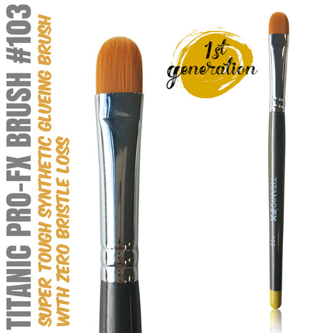 40% OFF - 1st Generation - Titanic Pro-FX Brush 103 - Medium Filbert Brush