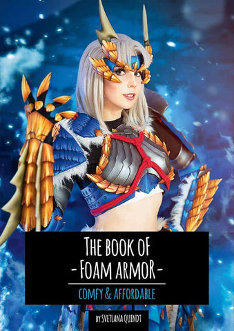 The Book of Foam Armor – Comfy & Affordable by Kamui Cosplay, Books, Kamui Cosplay, Titanic FX, Titanic FX Store, Prosthetic, Makeup, MUA, SFX, FX Makeup, Belfast, UK, Europe, Northern Ireland, NI
