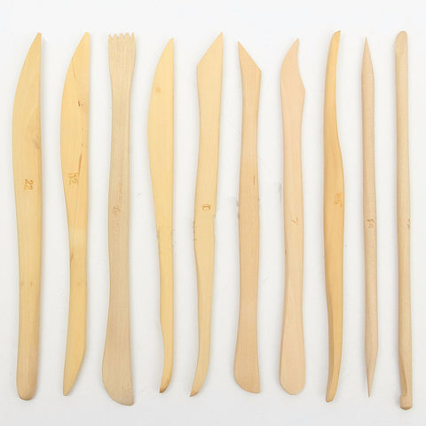 10 Piece Wooden Sculpting Tool Set, Tools, Titanic FX, Titanic FX, Titanic FX Store, Prosthetic, Makeup, MUA, SFX, FX Makeup, Belfast, UK, Europe, Northern Ireland, NI