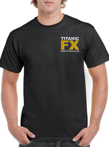 Titanic FX Branded Apparel - Unisex T-Shirt, Apparel, Titanic FX, Titanic FX Store, Titanic FX Store, Prosthetic, Makeup, MUA, SFX, FX Makeup, Belfast, UK, Europe, Northern Ireland, NI