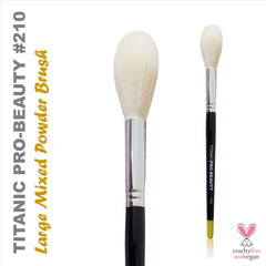NEW: Titanic Pro-Beauty Brush (210) - Large Mixed Powder (Pre-Order for 17th May)