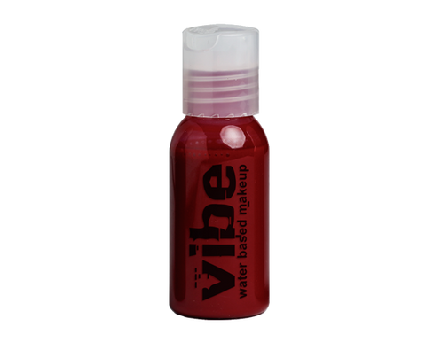 European Body Art - Vibe Water-based Airbrush Paint / Makeup - Fresh Blood, Paints, European Body Art, Titanic FX Store, Titanic FX Store, Prosthetic, Makeup, MUA, SFX, FX Makeup, Belfast, UK, Europe, Northern Ireland, NI
