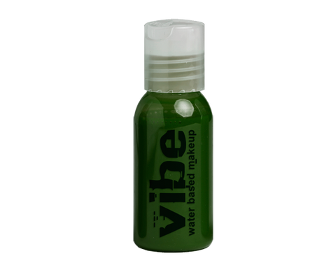 European Body Art - Vibe Water-based Airbrush Paint / Makeup - Prime Green, Paints, European Body Art, Titanic FX, Titanic FX Store, Prosthetic, Makeup, MUA, SFX, FX Makeup, Belfast, UK, Europe, Northern Ireland, NI