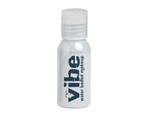 European Body Art - Vibe Water-based Airbrush Paint / Makeup - Fluorescent White, Paints, European Body Art, Titanic FX Store, Titanic FX Store, Prosthetic, Makeup, MUA, SFX, FX Makeup, Belfast, UK, Europe, Northern Ireland, NI