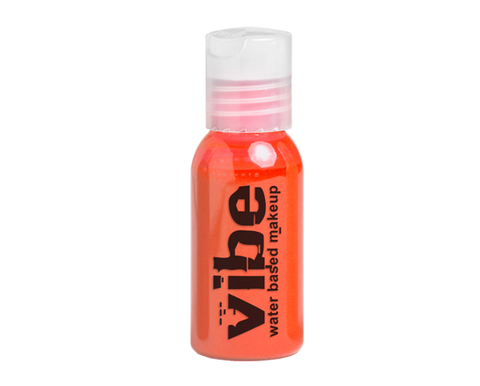 European Body Art - Vibe Water-based Airbrush Paint / Makeup - Fluorescent Orange, Paints, European Body Art, Titanic FX Store, Titanic FX Store, Prosthetic, Makeup, MUA, SFX, FX Makeup, Belfast, UK, Europe, Northern Ireland, NI