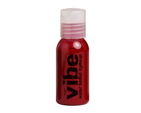 European Body Art - Vibe Water-based Airbrush Paint / Makeup - Prime Red, Paints, European Body Art, Titanic FX, Titanic FX Store, Prosthetic, Makeup, MUA, SFX, FX Makeup, Belfast, UK, Europe, Northern Ireland, NI