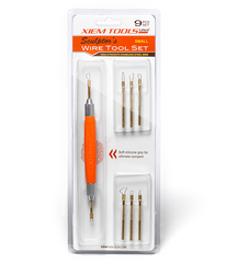 Xiem Tools - Interchangeable Sculptor's 'Small' Wire Tool Set (9 piece)