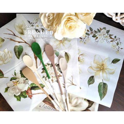 "Magnolia Garden Transfer | Belles and Whistles | 24"" x 32"" (4 Sheets)"