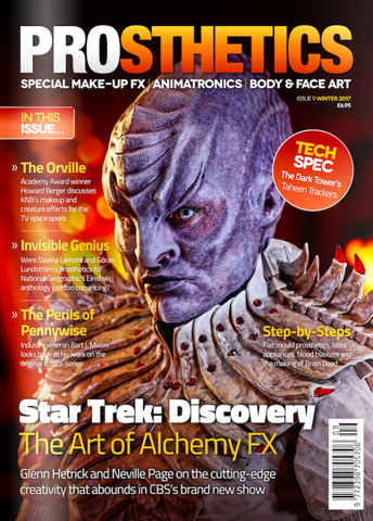 The Prosthetics Magazine (Issue 9 - Winter 2017), Magazine, Prosthetics Magazine, Titanic FX, Titanic FX Store, Prosthetic, Makeup, MUA, SFX, FX Makeup, Belfast, UK, Europe, Northern Ireland, NI