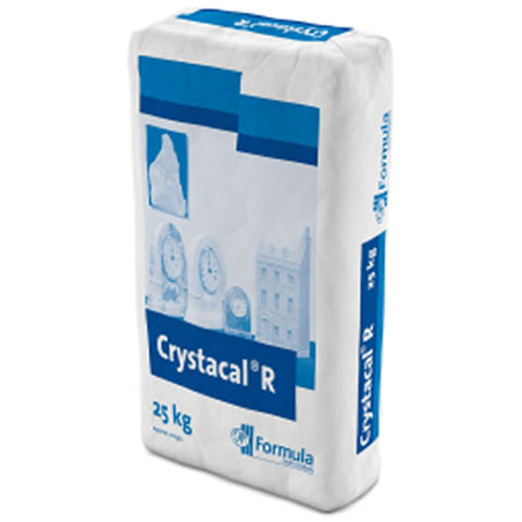 Formula Crystacal R Hard White High Strength Casting Plaster 25kg, Plaster, Crystacal, Titanic FX Store, Titanic FX Store, Prosthetic, Makeup, MUA, SFX, FX Makeup, Belfast, UK, Europe, Northern Ireland, NI