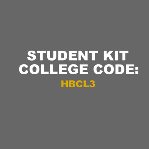 College Code 'HBCL3', College Kits, Titanic FX College Kits, Titanic FX, Titanic FX Store, Prosthetic, Makeup, MUA, SFX, FX Makeup, Belfast, UK, Europe, Northern Ireland, NI