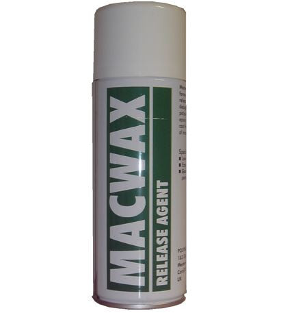 MACWAX ( Wax Based ) Spray Mould Release Spray 400ml, Release Agent, Polymed, Titanic FX, Titanic FX Store, Prosthetic, Makeup, MUA, SFX, FX Makeup, Belfast, UK, Europe, Northern Ireland, NI