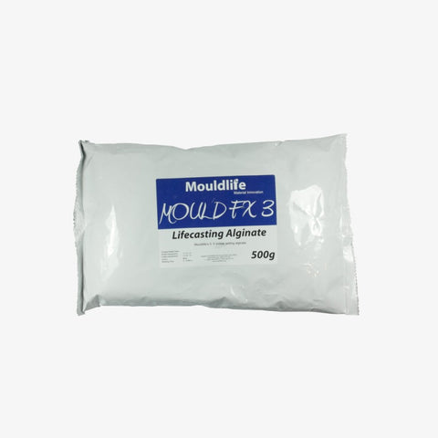 Mouldlife Lifecasting Alginate FX3 (2-3 Minute Set), Lifecasting, Mouldlife, Titanic FX, Titanic FX Store, Prosthetic, Makeup, MUA, SFX, FX Makeup, Belfast, UK, Europe, Northern Ireland, NI