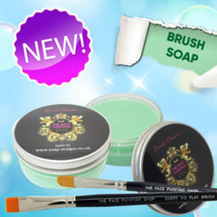 The Face Painting Shop Brush Soap - Green