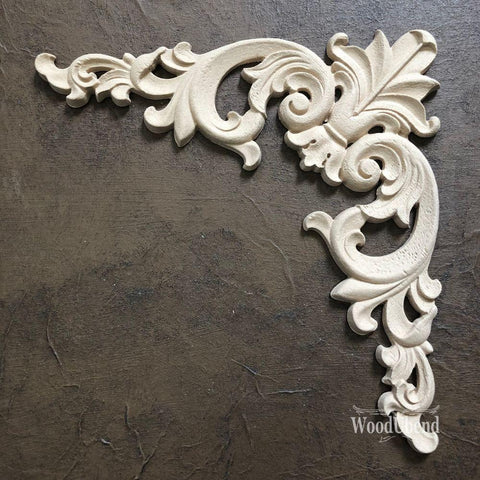 WoodUBend | Decorative Pediment Moulding ( 2094 ) | 15cm x 8cm