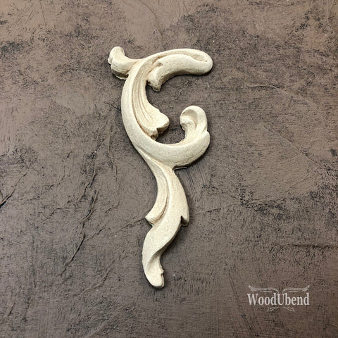 WoodUBend | Right Scroll ( 0368 ) | 11cm x 5cm